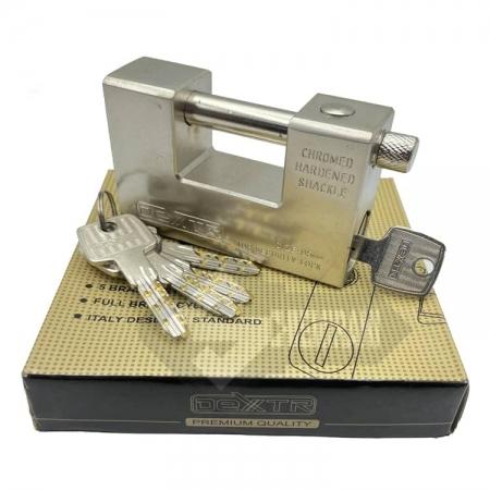 قفل کتابی فولادی دکستر کلید ابوسی